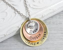 personalized jewlery personalized jewelry etsy