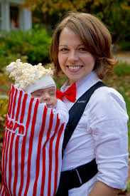 she says u2026 baby u0027s first halloween popcorn costume popcorn and