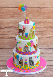 best 25 cat birthday cakes ideas on pinterest kitty cake cat