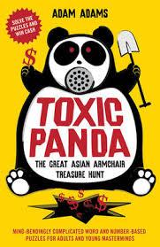 Armchair Treasure Hunts Toxic Panda By Adam Adams Waterstones