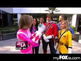 interview cast power rangers samurai good la fox