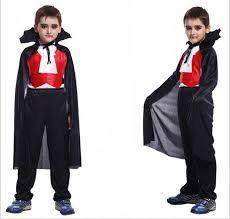 Cheap Childrens Halloween Costumes Children Halloween Clothes Vampire Costumes Kids Boys
