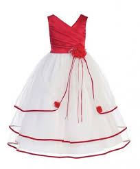 a m buy red and white stylish frock am 318 online in pakistan techcity pk