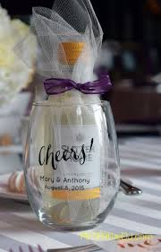 wine glass party favor wine glass wedding favors amazing wine goblet wedding favors oz