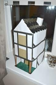 making a tudor cardboard house u2013 homework leannes blog