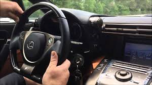lexus lfa steering wheel test drive in the lexus lfa youtube