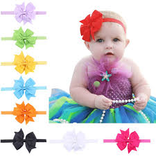 newborn hair bows new baby headwear hairpin cheap ribbon boutique hair bows