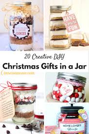 Cookie Mix In A Jar Christmas Gifts 20 Creative Diy Christmas Gifts In A Jar Conservamom