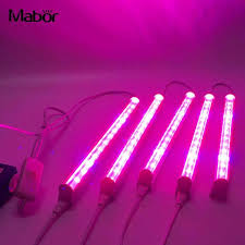 t5 vs led grow lights 5pcs set premium t5 plant grow light greenhouse purple led grow l