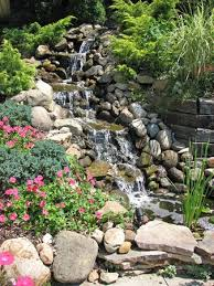 Backyard Waterfall Top 25 Best Backyard Waterfalls Ideas On Pinterest Garden