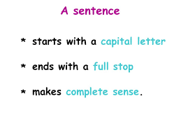 a sentence the sentence book sue palmer ppt video online download