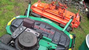 bobcat ransomes mower problem youtube