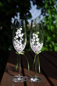wedding glasses ajala s funky chagne glasses and toasting flutes for your
