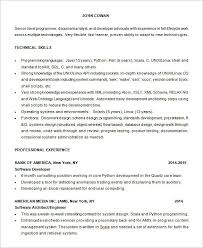 Computer Science Resume Sample by Lead Programmer Magician Resume Samples With Software Programmer