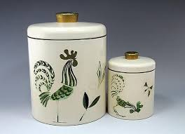 rooster canisters kitchen products 566 best vintage kitchen canister sets images on