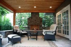 covered patio with fireplace patio patio ideas with fireplace lush covered patio fireplace