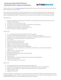 chic hvac resume no experience for your no experience resumes