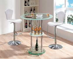 glass pub table and chairs 20 well designed pub tables with wine storage home design lover