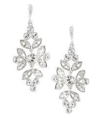 Cristal Chandelier by Givenchy Faux Crystal Chandelier Statement Earrings Dillards