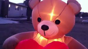 blow up thanksgiving decorations my valentine u0027s day inflatables 2013 youtube