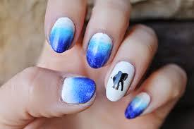 jersey texan heart ombre elephant nail art tutorial