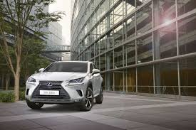 suv lexus 2017 facelifted 2018 lexus nx says konnichiwa at iaa 2017 in frankfurt