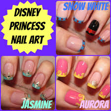 disney nail art pretty as a princess disney nail art ideas