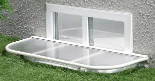 basement window well covers rectangular basement window well