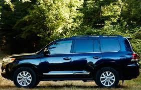 toyota land cruiser 2017 2017 toyota land cruiser exterior black color side view alloy