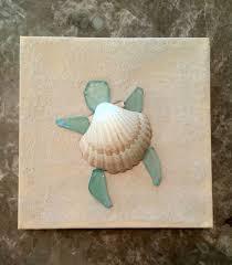 Decorating With Seashells In A Bathroom Best 25 Sea Glass Art Ideas On Pinterest Sea Glass Shell Art