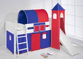 Schlafzimmerschrank Pinie Geb Stet Spielbett Hochbett Kinderbett Kinder Bett Mit Turm Und Rutsche