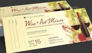 wine mixer flyer template graphicstank