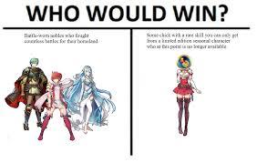 Meme List - low effort meme for low effort tier list fireemblemheroes