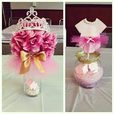 tutu themed baby shower tutu baby shower decorations for a girl ideas pink themed