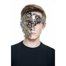 incognito half mask masquerade mask