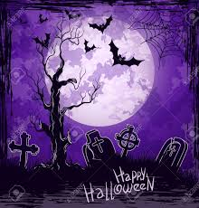 halloween background images violet grungy halloween background with full moon tombstones