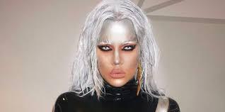Men Storm Halloween Costume Khloé Kardashian Won Halloween Skintight Latex U0027x Men