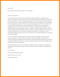 Letter Of Contribution Sample 9 Sample Personal Letters Of Recommendation Graphic Resume