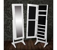 standing mirror jewelry cabinet white free standing mirror jewelry cabinet vidaxl com