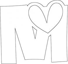 Letter M Coloring Pages For Kids Preschool And Kindergarten M Coloring Pages
