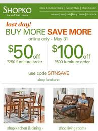 Shopko Outdoor Furniture Shopko Get It Now Last Day To Save 100 On Furniture Milled