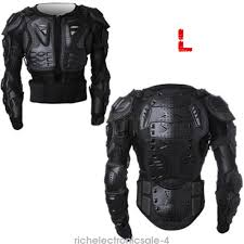 armored leather motorcycle jacket motorcycle full body armor jacket spine chest shoulder protection