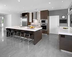 what color cabinets go with grey floors 15 stunning grey kitchen floor design ideas
