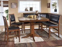 furnitures dining room sets with bench best of rectangle modern