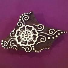 Indian Flower Design Traditional Indian Flower Design Wood Blocks For Printing Create