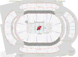 Stadium Floor Plans Prudential Center Newark Arena Seat And Row Numbers Detailed