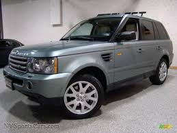 green range rover 2007 land rover range rover sport hse in giverny green metallic