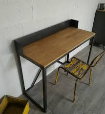 bureau stylé bureau style industriel sur mesure ref boston heure création