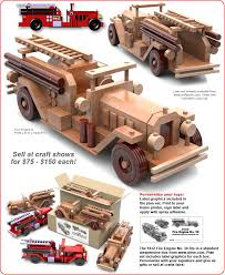 Free Wooden Toys Plans Download by Woodworking Plans Wood Fire Truck Plans Pdf Plans
