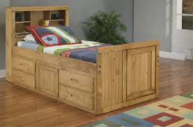 Captains Bed Bedroom Trundle Bed Amazon Captains Bed With Trundle Twin